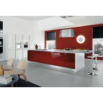 Add a Splash of Color to Your Home with Red kitchen cabinets